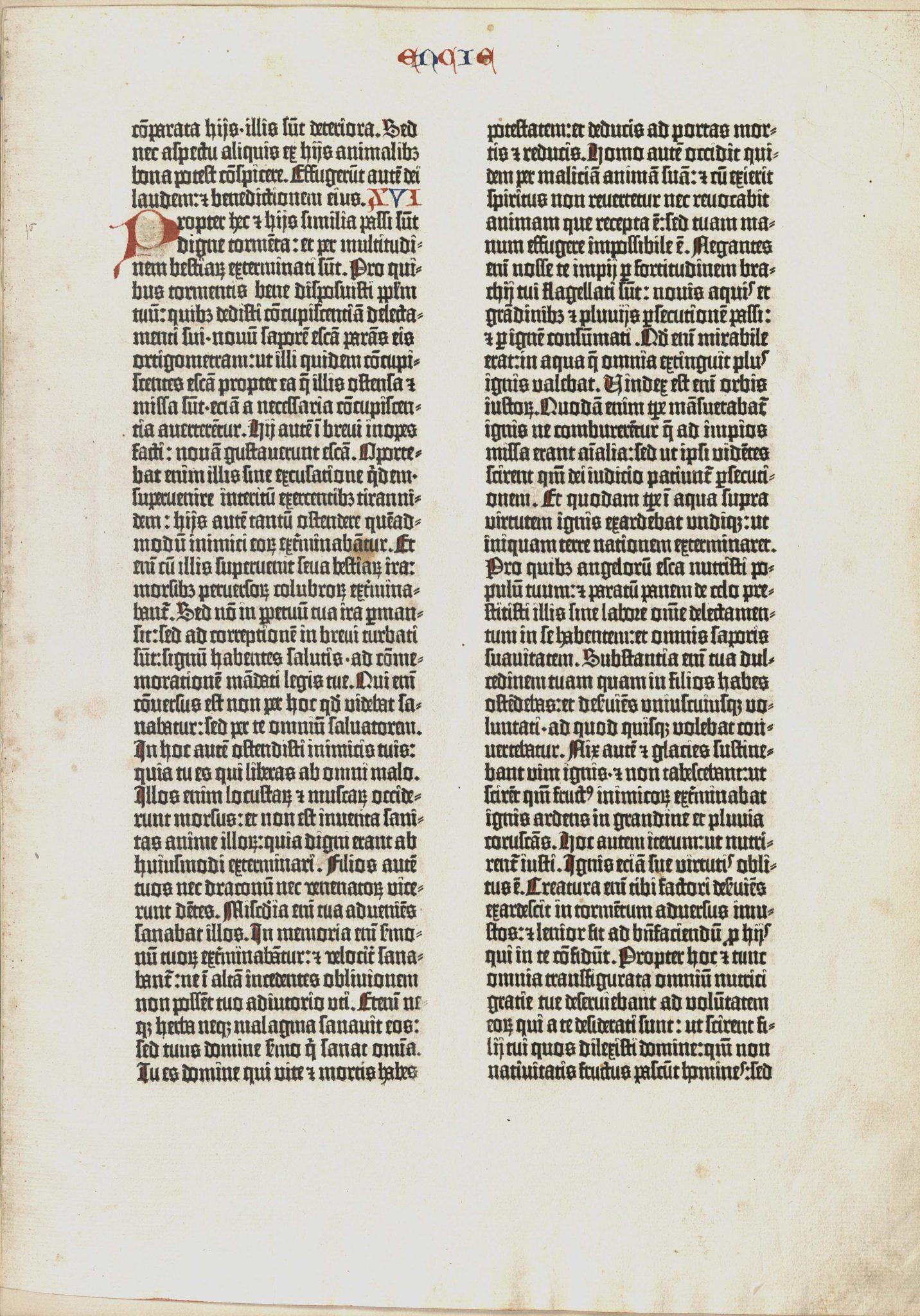Gutenberg Bible, 1450-1455