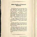Exhibition of Relics of the Prophet Joseph Smith, 1930