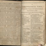 Webster, A Compendious Dictionary.... 1806, Chronological Table