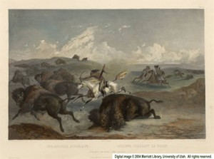 Indians_Hunting_the_Bison