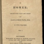 Pope, An Essay on Man, 1809