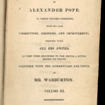 Pope, Poetical Works, 1819