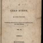 Byron, Poetical Works, 1814