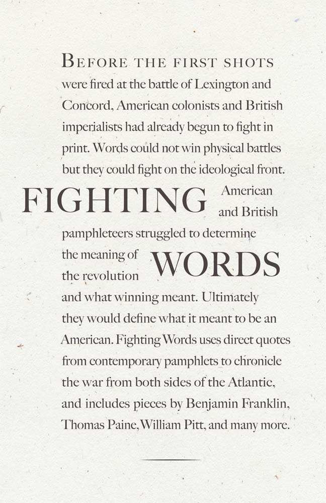 Fighting Words, 2012