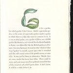 Strand, A Poet's Alphabet of Influences, 1994, G