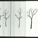 Carl and Marie Dern, Winter Orchard, 2005, Trees