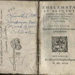 Zsamboki, Emblemata, 1569, Title Page