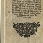 Kruger, Zuschrift..., 1744, End Page