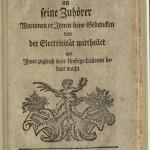 Kruger, Zuschrift..., 1744, Title Page