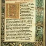 Mueller, Calendarium, 1482, First Page