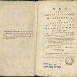 Berquin-Duvallon, Vue de la Colonie..., 1803, Title Page