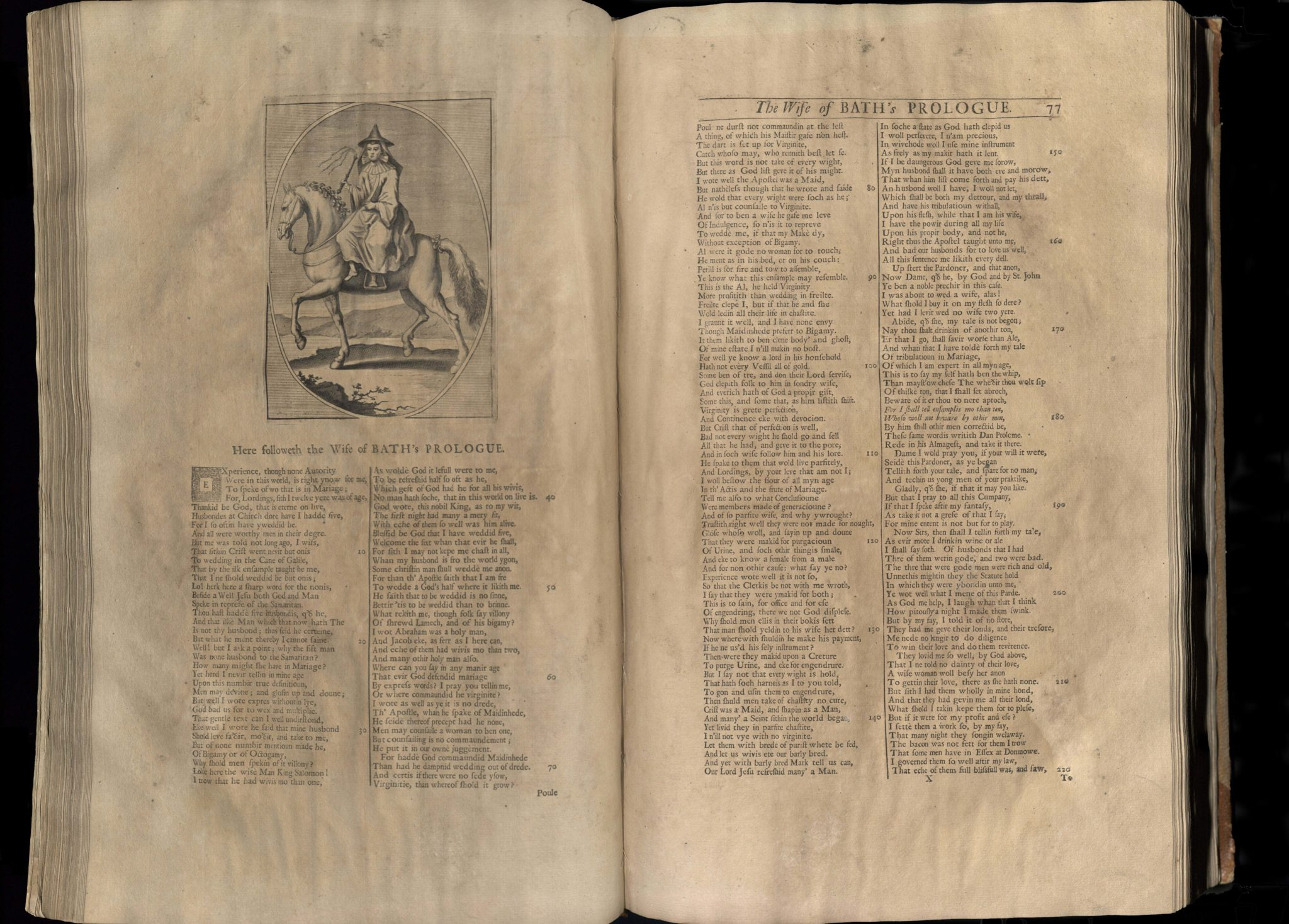 Chaucer, The Works of Geoffrey Chaucer, 1721, The Nun's Tale