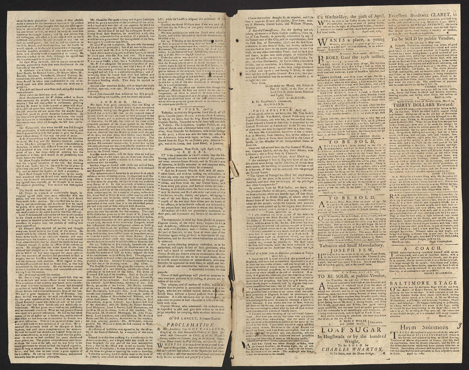 The Pennsylvania Journal and Weekly Advertiser,1783
