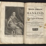 Hale, Primitive Origination...,1677, Title Page