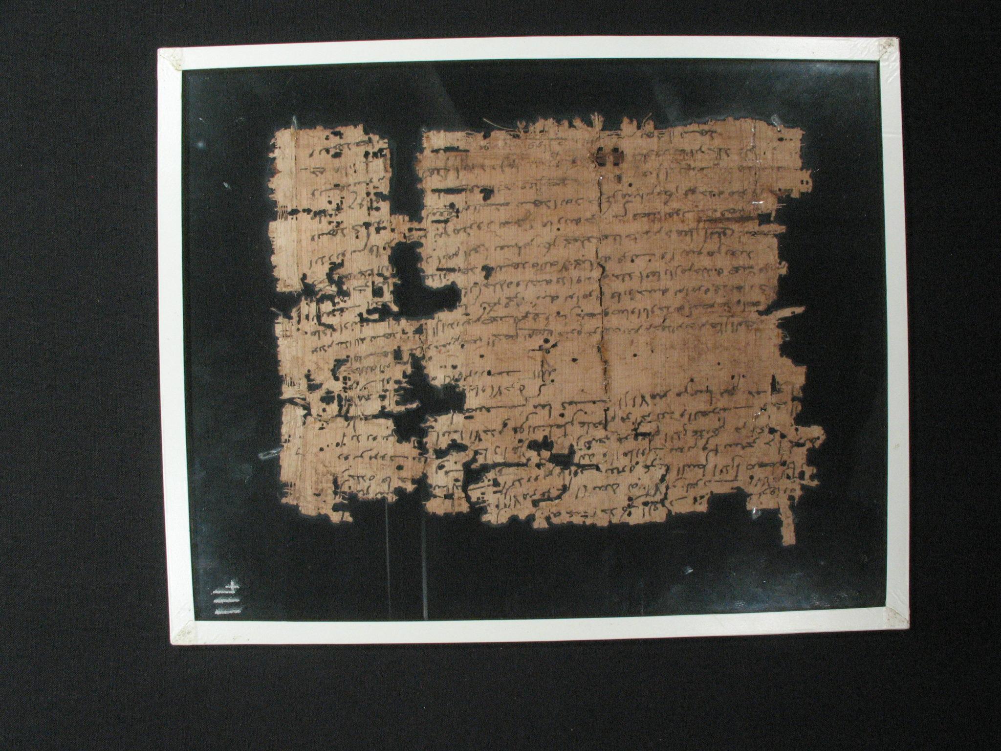 114a - Arabic Papyrus Recto 3