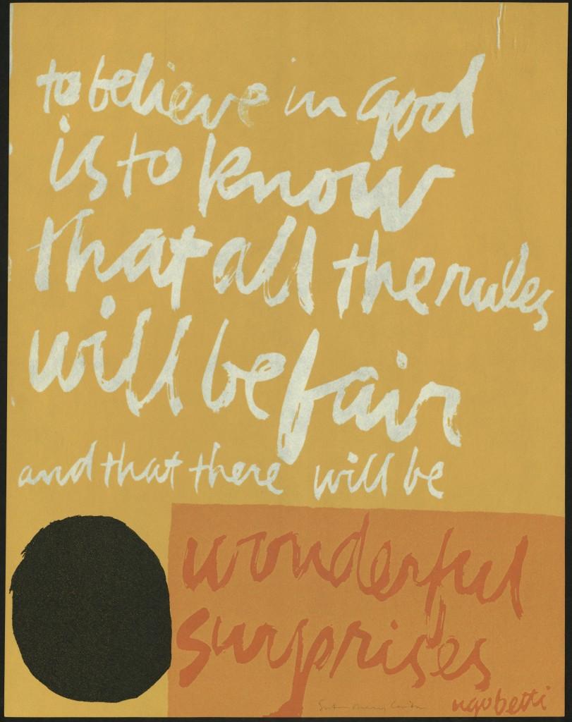 to believe in God