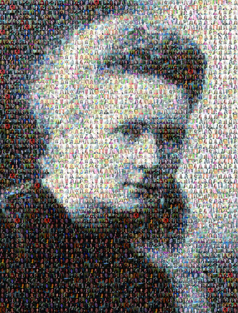 Curie-Wall-Mosaic
