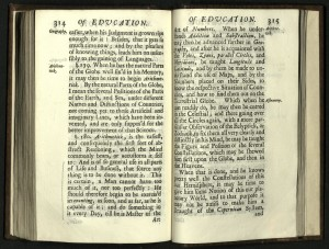 SOME THOUGHTS CONCERNING EDUCATION John Locke 1632 1704 London Printed For A And J Churchill1695 Third Edition LB475 L6 S65 1695