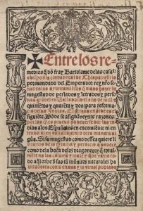 Entre los remedios q do Fray Bartolome de Las Casas, 1552