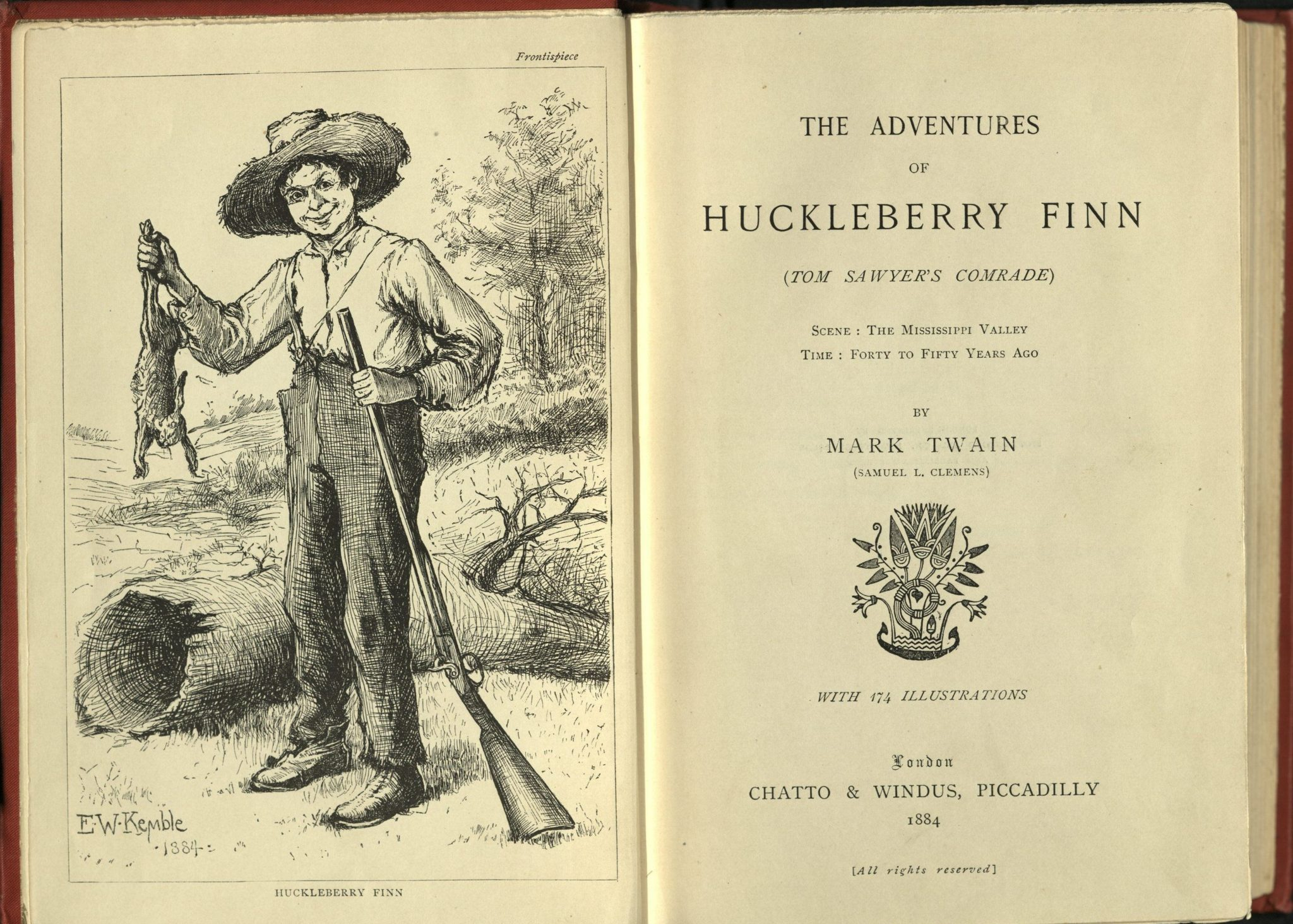 ernest hemingway on huckleberry finn Hemingway, ernest — 'all modern american literature comes from one book by mark twain called huckleberry finn american writing comes from that there wa.