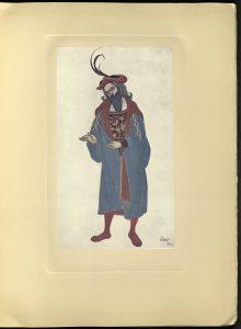 L'Oeuvre de Leon Bakst pour La belle au bois dormant, M. de Brunhoff, 1922 ND699 B3 L38