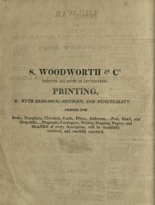 S. Woodworth & Co., Printers