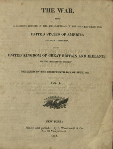 The War, Title Page