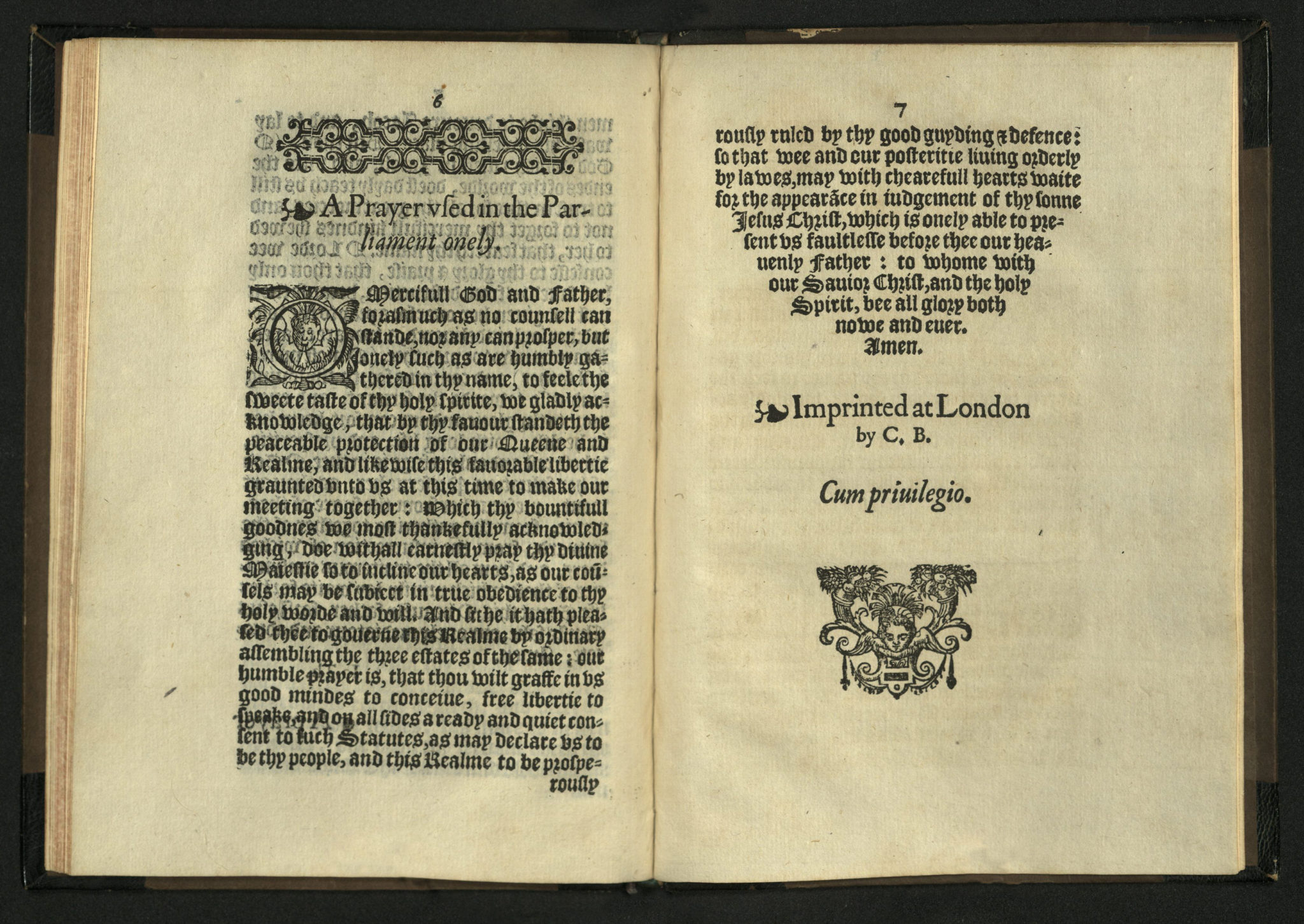 OPEN BOOK   News from the Rare Books Department of Special